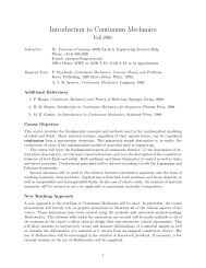 Introduction to Continuum Mechanics - Engineering Science and ...