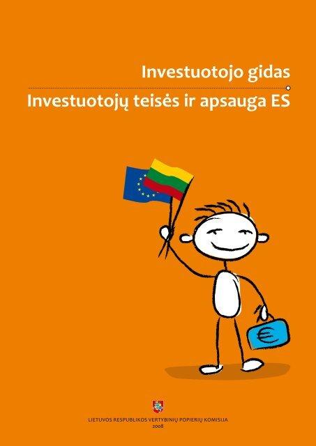 Investuotojo gidas Investuotoj? teis?s ir apsauga ES - Esma - Europa
