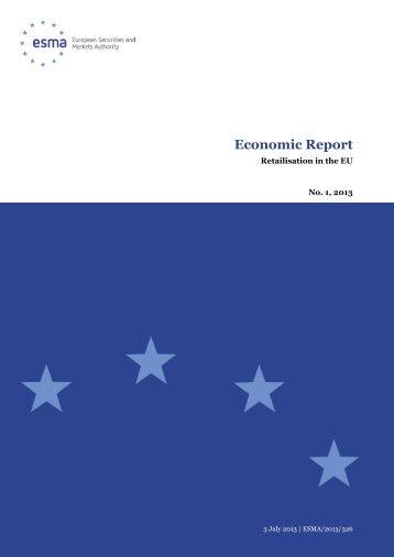 Retailisation in the EU - Esma - Europa