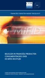 Consumentengids over de MiFID-richtlijn Be - Esma - Europa