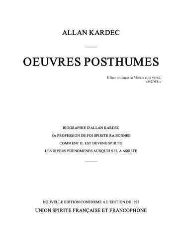Allan Kardec - Oeuvres Posthumes.pdf