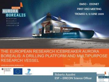 The European Research Icebreaker Aurora Borealis - ESONET NoE