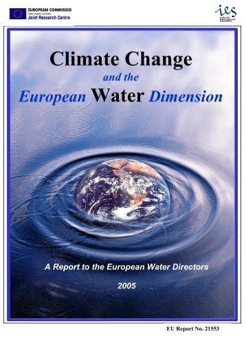 Climate Change and the European Water Dimension - Agri ...