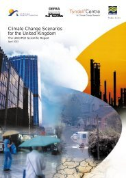 Climate Change Scenarios for the United Kingdom - Espace