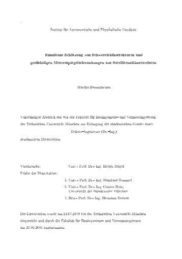 Download - Institut für Astronomische und Physikalische Geodäsie