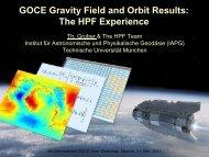 Gravity Field - Institut für Astronomische und Physikalische ...