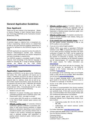 Application guidelines ESPACE2013-14_2Page - Earth Oriented ...
