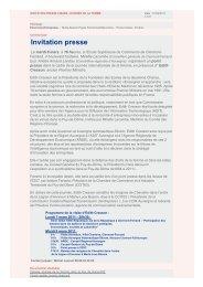 Invitation presse - Espace Datapresse