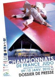 Championnats de France de Judo 1re Division - Espace Datapresse