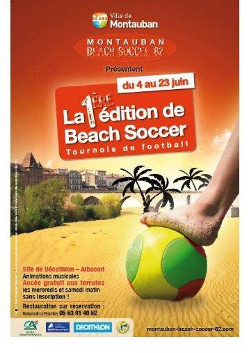 DP beach soccer - Espace Datapresse