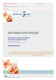information presse - Espace Datapresse