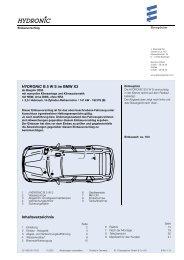 HYDRONIC B 5 W S Im BMW X3 - Espar