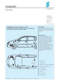 HYDRONIC D 4 W S in VW Polo 1,4 TDI - Espar