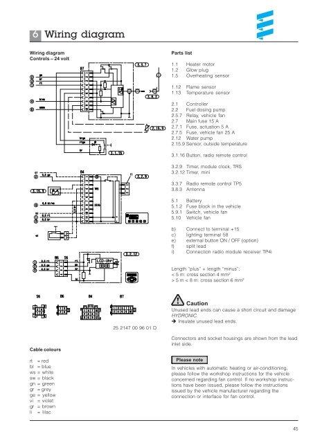 6 Wiring diagram HYDRONIC on 5.3 engine diagram, 5.3 motor diagram, 5.3 coolant diagram, 5.3 fuel system diagram, 5.3 firing order diagram,