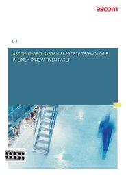 IP-DECT brochure - Ascom