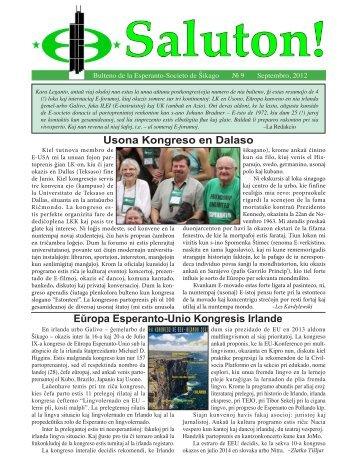 Usona Kongreso en Dalaso Eŭropa Esperanto-Unio Kongresis Irlande