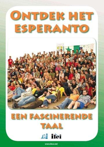 een fascinerende taal - Nederlandse Esperanto-Jongeren