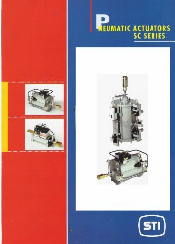 Page 1 Page 2 SC actuators are available in eight different sizes ...