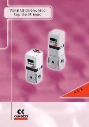 Digital Electro-pneumatic Regulator ER Series