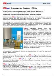 ESplan Engineering Desktop A4 - ESP - CAD/CAE Vertriebs-GmbH
