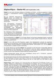 ESplan/VXpro - ESP - CAD/CAE Vertriebs-GmbH