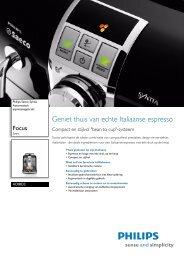 HD8833/11 Philips Automatisch espressoapparaat