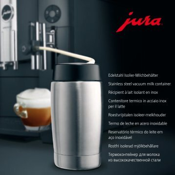 Manual Jura Rezervor Lapte Otel 0,4 Lt