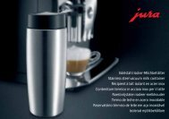 Manual Jura rezervor lapte din otel 0.6 lt