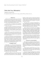 Thick Skin Nose, Rhinoplasty - ESPRS