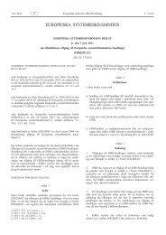 Europeiska systemrisknämndens beslut av den 3 juni 2011 ... - Europa