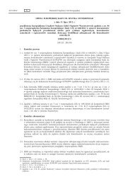 Opinia Europejskiej Rady ds. Ryzyka Systemowego z dnia ... - Europa