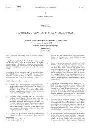 ERRS/2012/1 - European Systemic Risk Board