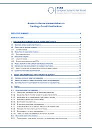 Annex - European Systemic Risk Board - Europa