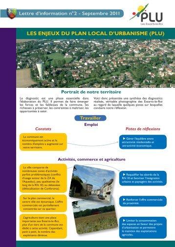 Lettre d'information n°2 de septembre 2011 - Essarts-le-Roi