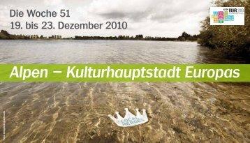 Alpen – Kulturhauptstadt Europas - Ruhr 2010