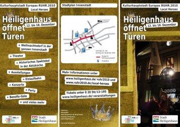 Heiligenhaus öffnet Türen Heiligenhaus öffnet Türen - Ruhr 2010