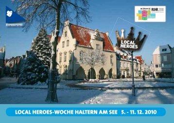 LOCAL HEROES-WOCHE HALTERN AM SEE 5. - 11 ... - Ruhr 2010