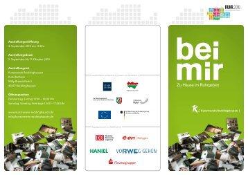 """""""bei mir"""" (PDF) - Ruhr 2010"""