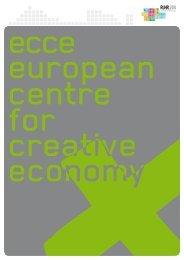 ecce Broschüre Kreativwirtschaft - Ruhr 2010
