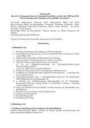 14. Sitzung 20.04.09 - Essen-Oldb