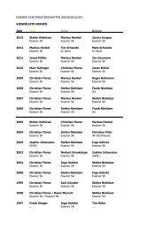 Siegerliste Herren - Essener Skiklub e.V.