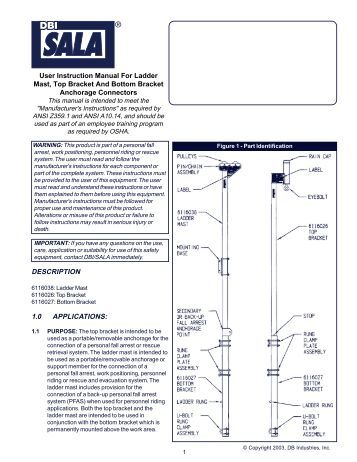User Instruction Manual Door Jamb Anchor Essential Safety