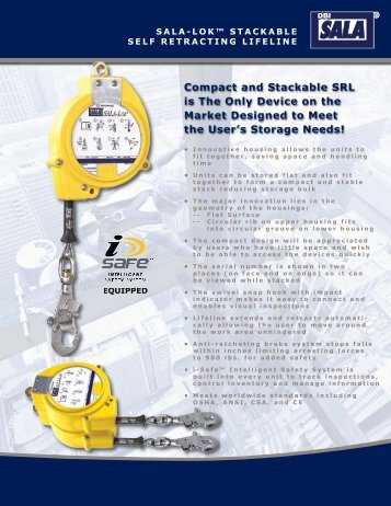 Compact and Stackable SRL is The Only Device ... - Essential Safety