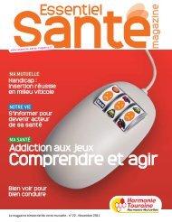 Harmonie Mutualité Touraine - Essentiel Santé Magazine