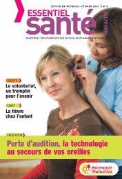 Harmonie Mutuelles édition Entreprises - Essentiel Santé Magazine