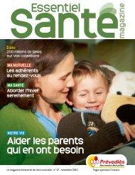 Pages spéciales Finistère - Essentiel Santé Magazine