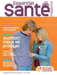 Harmonie Mutualité - Essentiel Santé Magazine