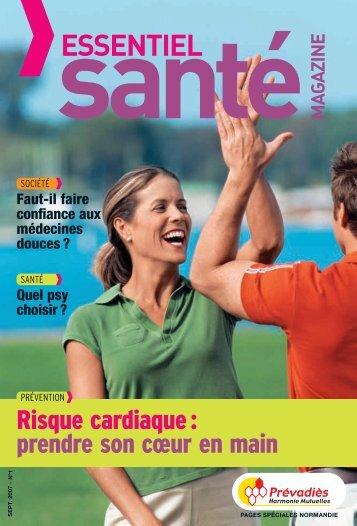 Prévadiès pages spéciales Normandie - Essentiel Santé Magazine