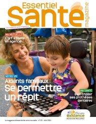 Mutuelle Existence - Essentiel Santé Magazine