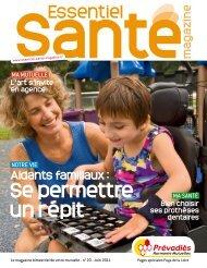 Pages spéciales Pays de Loire - Essentiel Santé Magazine